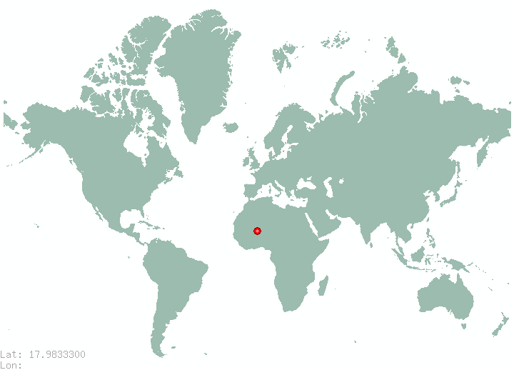 Nahe in world map